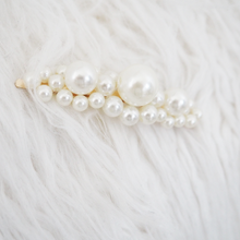 Load image into Gallery viewer, Multi Pearl Embellished Hair Slide