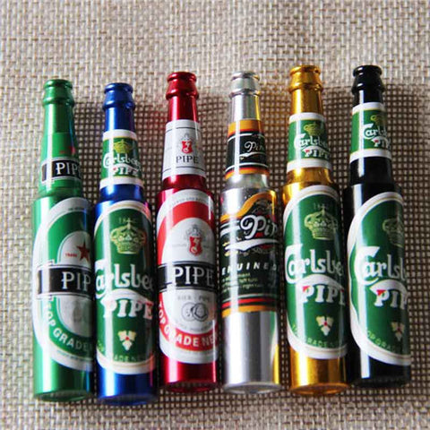 Mini Beer Smoke Pipes