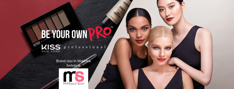 Cosmetica decorativa KISS New York Pro in Moldova exclusiv la MyMakeup Shop