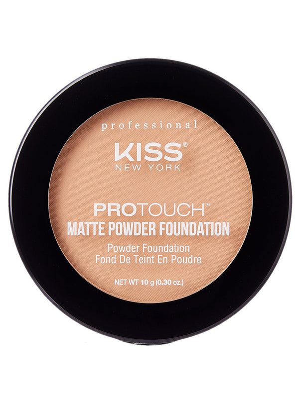 110 Porcelain Pudra matifianta KISS NEW YORK Matte Powder Foundation PROTOUCH, 10 gr.  cumpara in Chisinau, Moldova