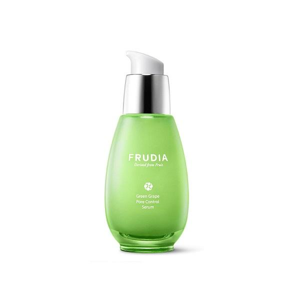 Serum de fata cu extract de struguri verzi, Frudia, Green Grape Pore Control Serum