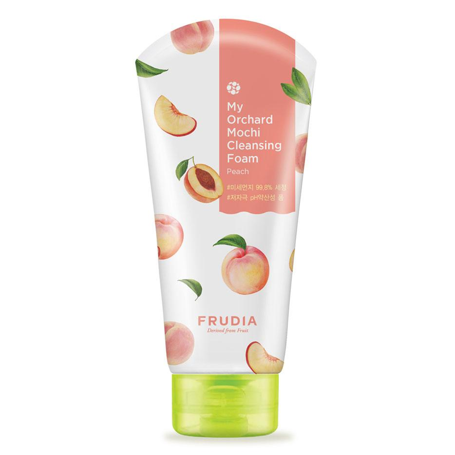 Spuma de curatare fata cu extract de piersici, Frudia My Orchard Peach Low Ph Cleansing Foam Low Ph