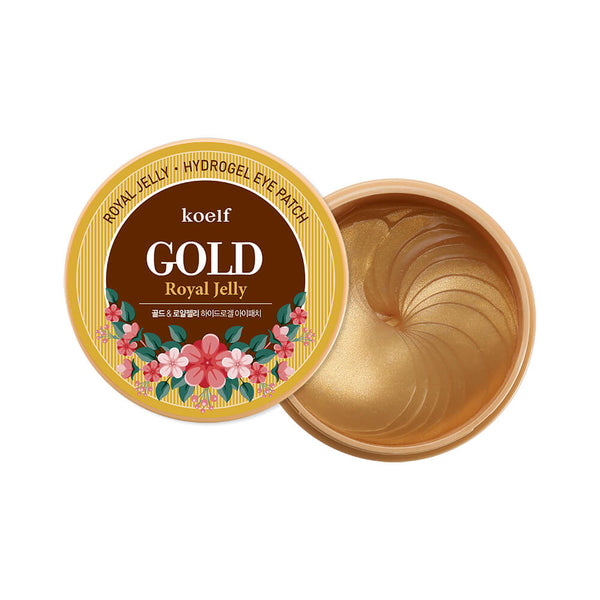 Plasturi pentru ochi Koelf Gold & Royal Jelly Eye Patch