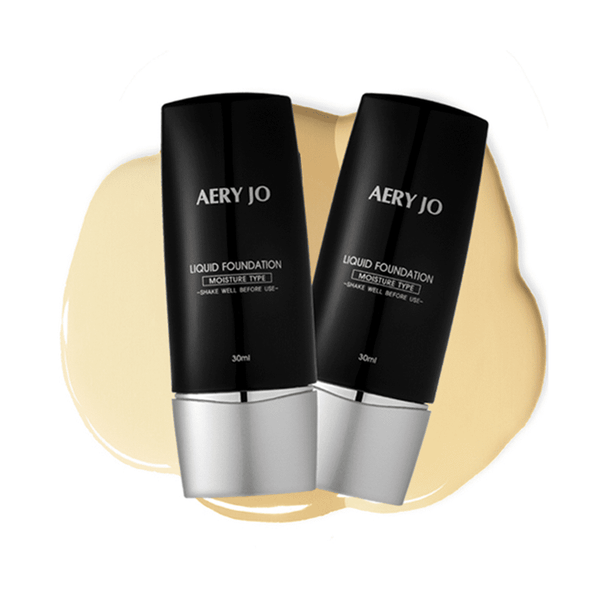 Fond de ten lichid și hidratant Aery Jo Liquid Foundation
