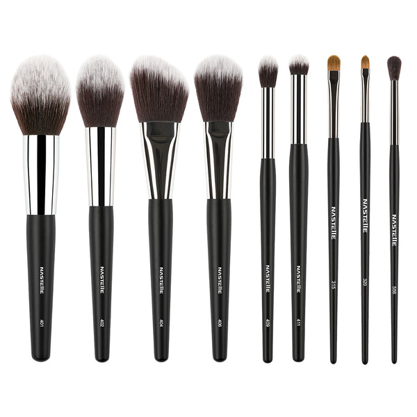 Set de pensule Nastelle New Synthetic Black, SN09/S