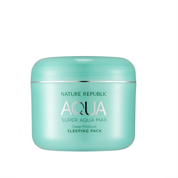 Cremă de noapte pentru față, Nature Republic, Super Aqua Max Deep Moisture Sleeping Pack, 100ml