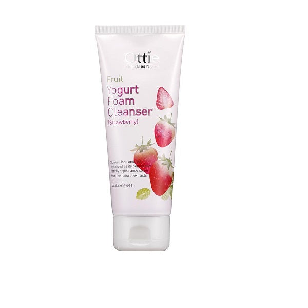 Spuma curatare fata, Ottie, Strawberry Yogurt Cleansing Foam