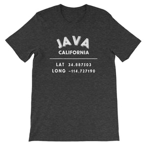 """Java, California""- Unisex  Short-Sleeve T-Shirt"