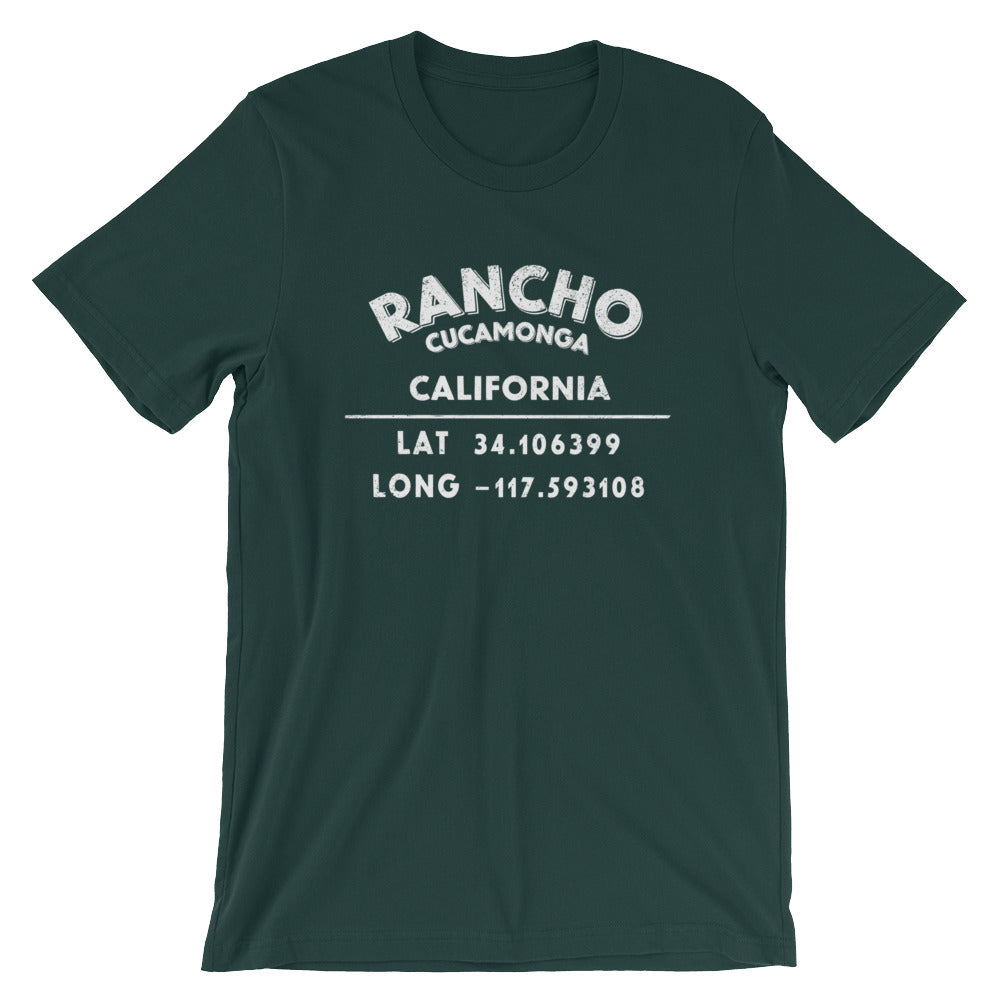 """Rancho Cucamonga, California"" Unisex Short-Sleeve T-Shirt"