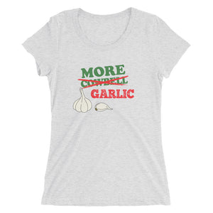 More Garlic Ladies' short sleeve t-shirt
