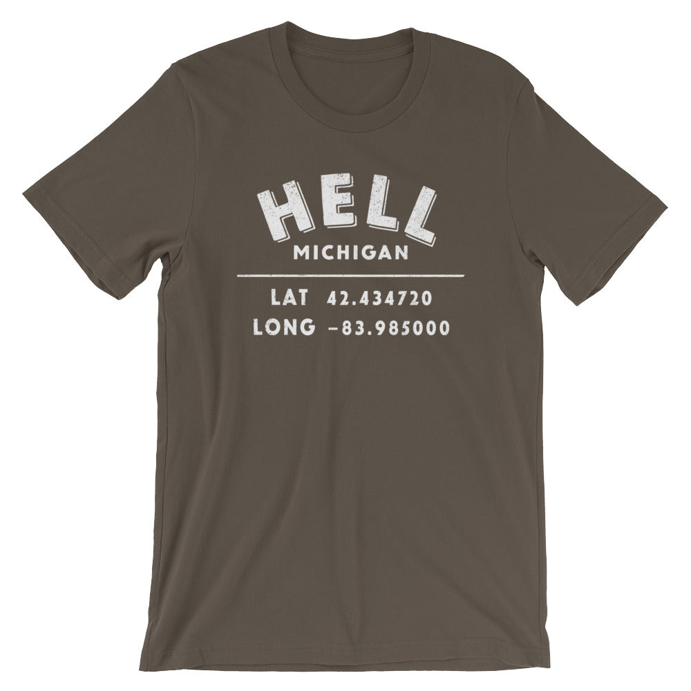 Hell. Michigan Short-Sleeve Unisex T-Shirt