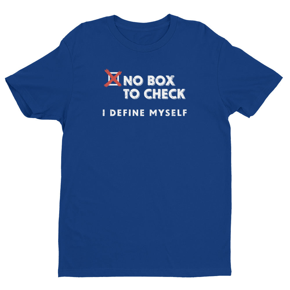 """No Box to Check"" - Mens' Short Sleeve T-shirt"