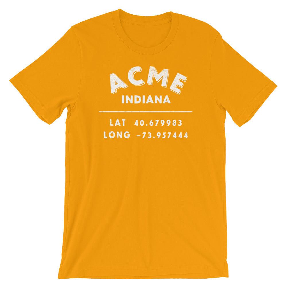 Acme, Indiana Short-Sleeve Unisex T-Shirt