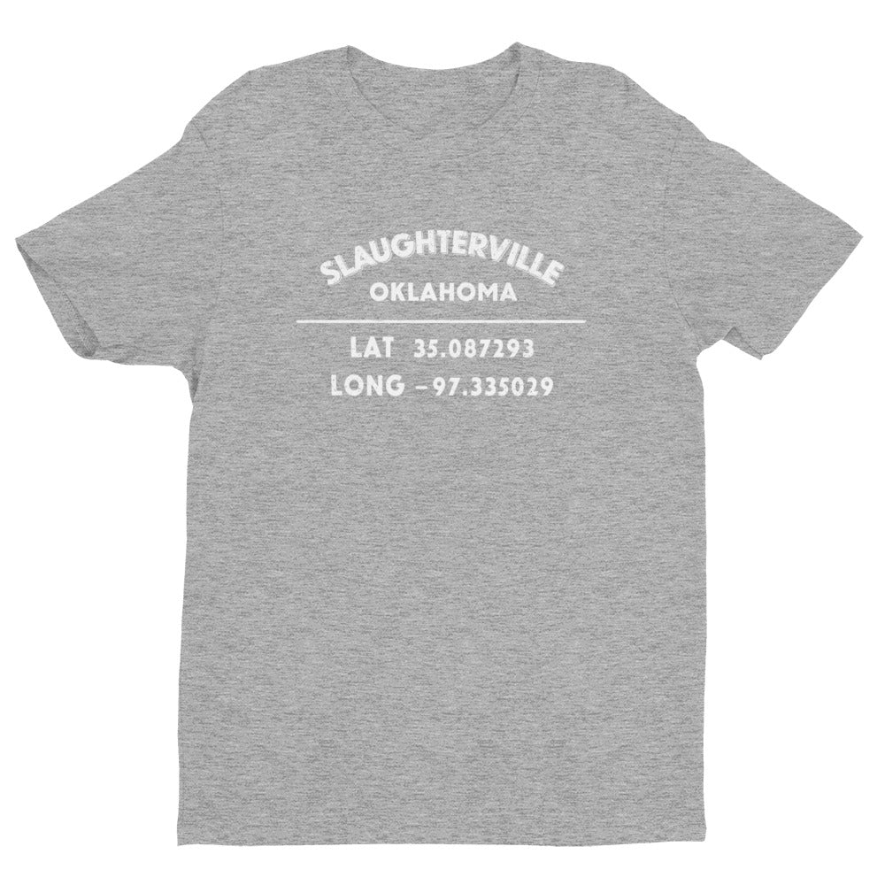 """Slaughterrville, California""- Mens' Short Sleeve T-shirt"