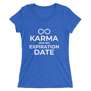 """Karma...""- Ladies' short sleeve t-shirt"