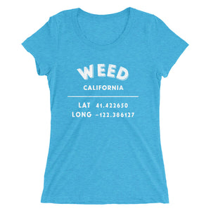 """Weed California""- Ladies' short sleeve t-shirt"