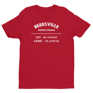 """Beersville, Pennsylvania""- Men's Short Sleeve T-shirt"