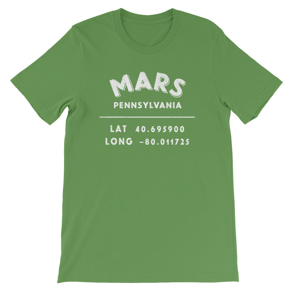 """Mars, Pennsylvania""- Unisex Short-Sleeve T-Shirt"
