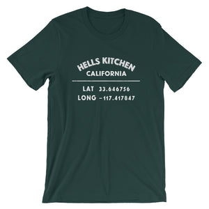 """Hells Kitchen, California""- Unisex Short-Sleeve  T-Shirt"