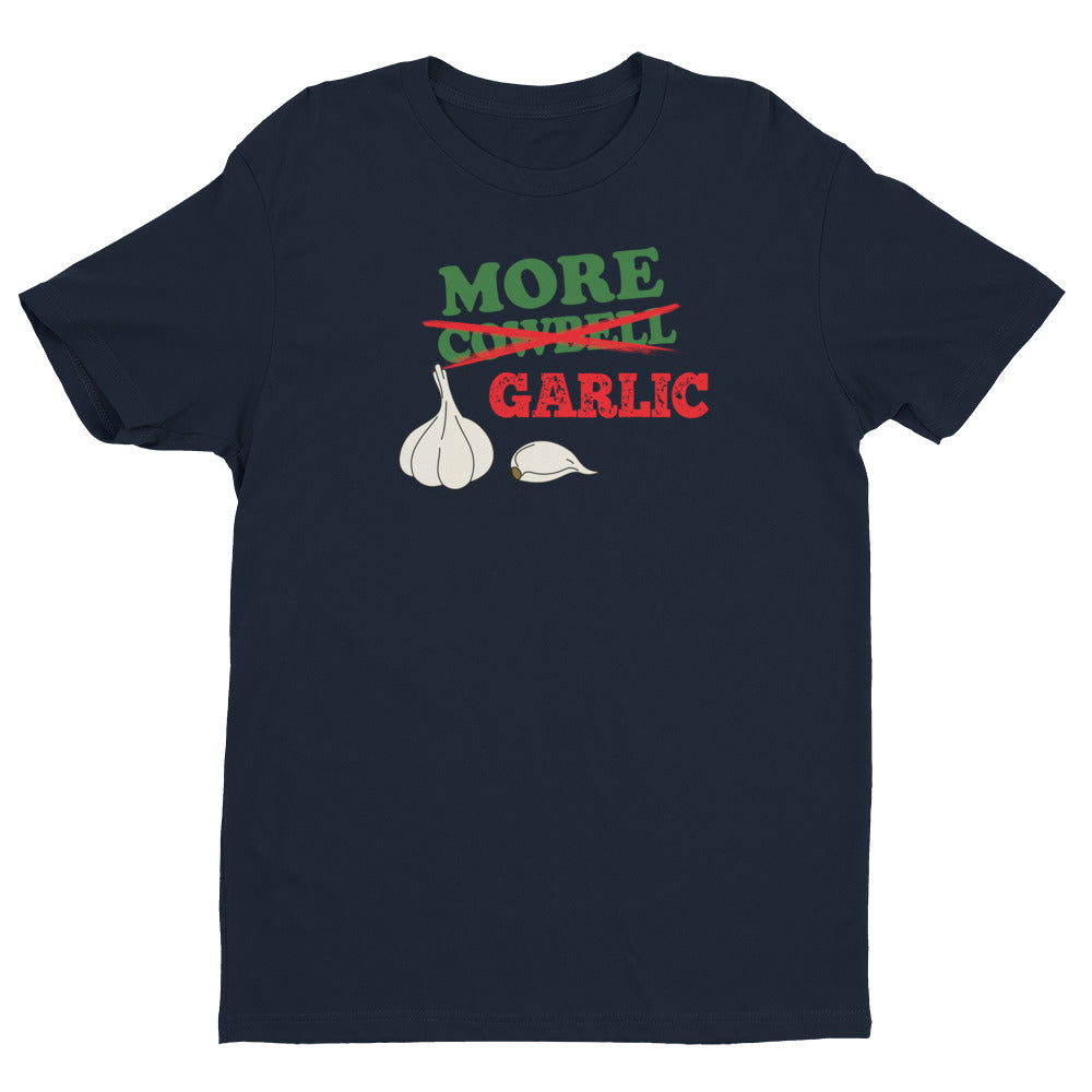 More Garlic Mens Short Sleeve T-shirt