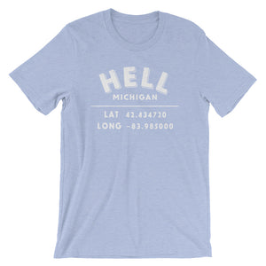 """Hell, Michigan""- Unisex Short-Sleeve T-Shirt"
