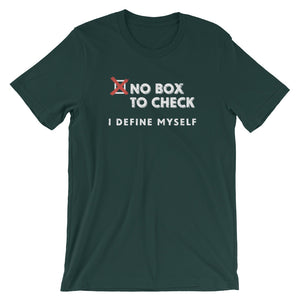 """No Box to Check""- Unisex Short-Sleeve T-Shirt"