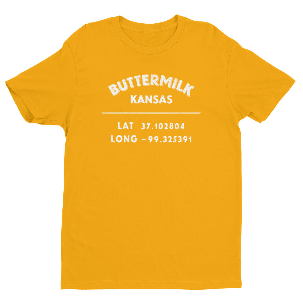 """Buttermilk, Kansas""- Mens' Short Sleeve T-shirt"