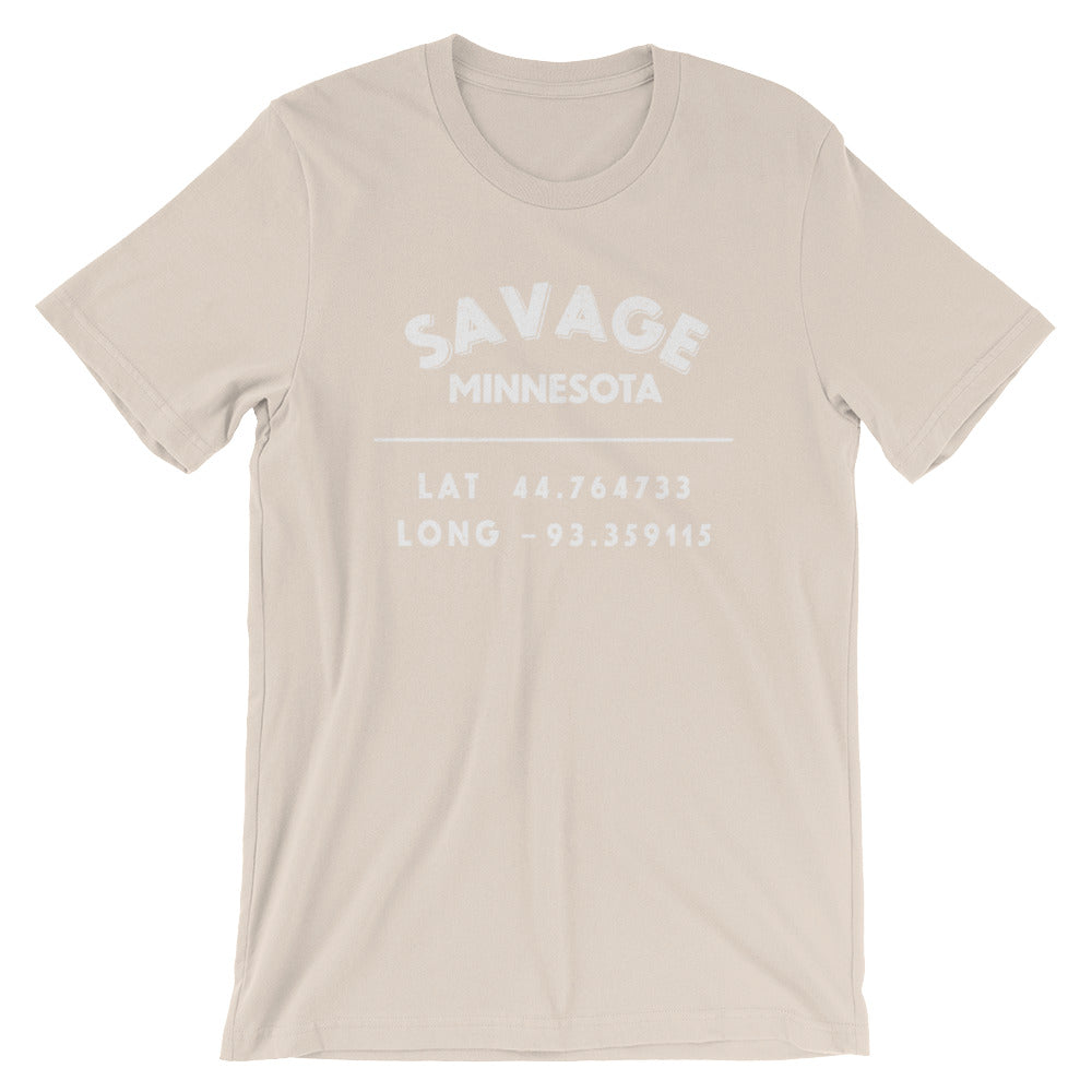 """Savage, Minnesota""- Unisex Short-Sleeve T-Shirt"