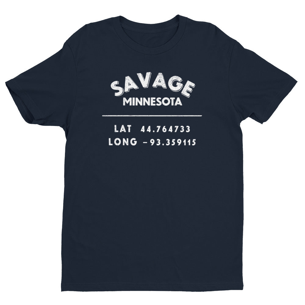 """Savage, Minnesota""- Mens' Short Sleeve T-shirt"
