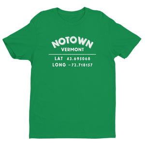 """Notown, Vermont""- Mens' Short Sleeve T-shirt"