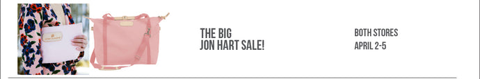 CANCELLED! The BIG Jon Hart Sale, 4/2 - 4/5