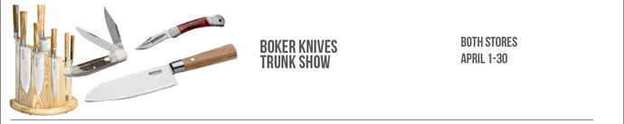 Boker Knives Trunk Show