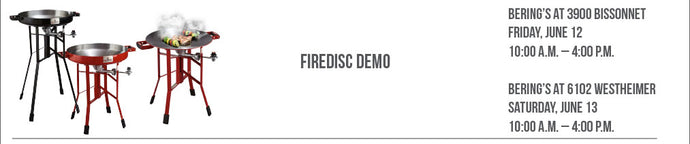 Firedisc Demo, 6/12 & 6/13