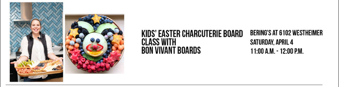 CANCELLED: Bon Vivant Boards - Kids' Easter Charcuterie Class 4/4