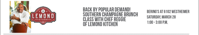 CANCELLED: Southern Champagne Brunch with Chef Reggie