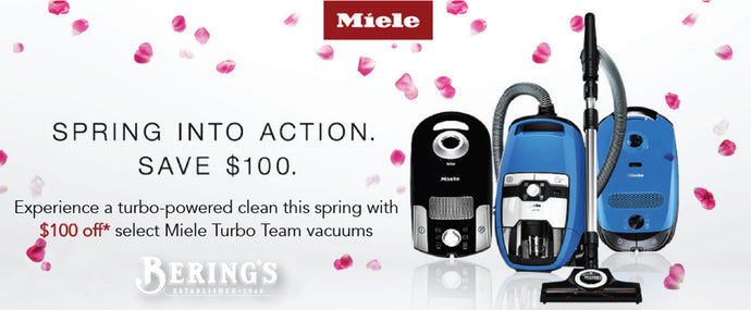 Miele - Save $100 This Spring!