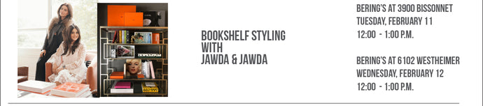 How To: Shelf Styling - Jawda & Jawda, 2/11 & 2/12