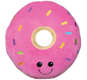 Sprinkled Donut Scented Embroidered Pillow