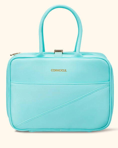 Baldwin Boxer Lunch Bag - Aqua - Corkcicle