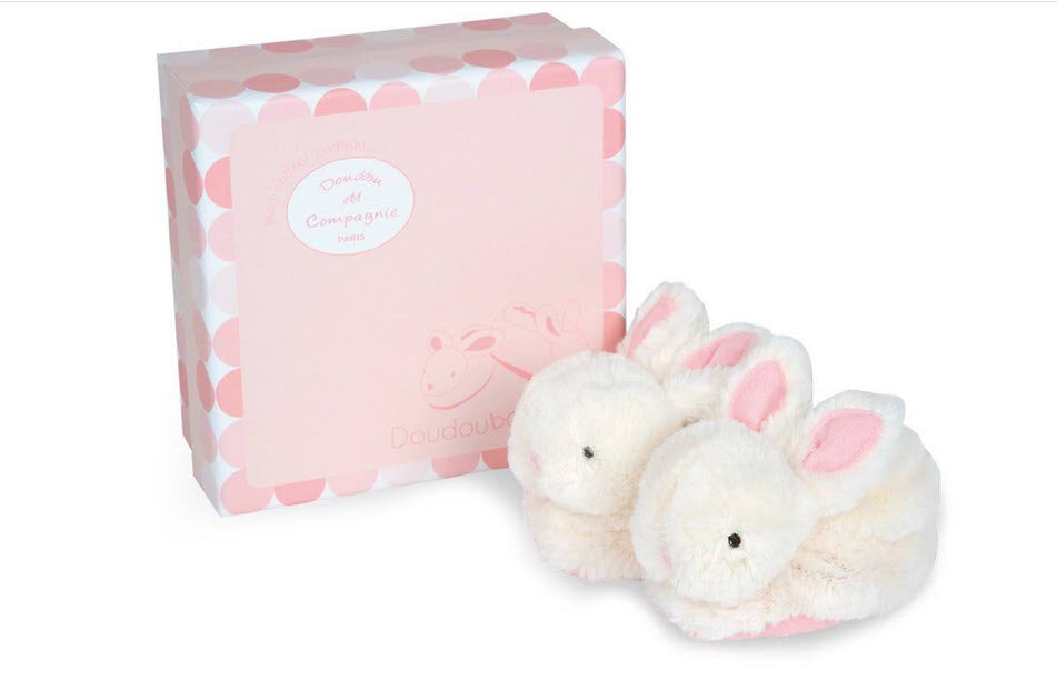 Doudou et Compagnie Rabbit Slippers - Booties
