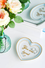 Load image into Gallery viewer, Draper James You Are Loved Heart Shaped Trinket Tray