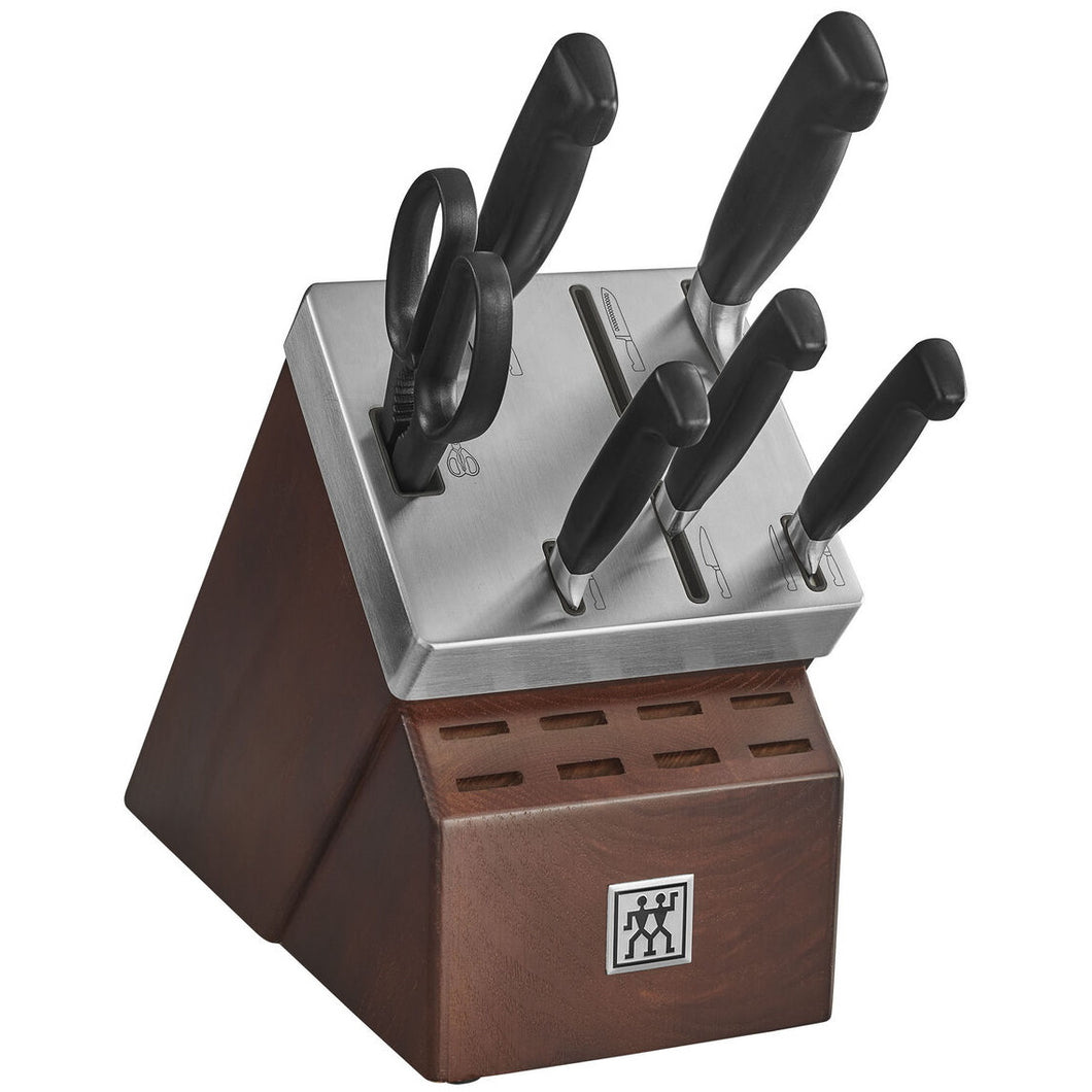 J.A. Henckels Four Star 8-Piece Set with Self Sharpening Block