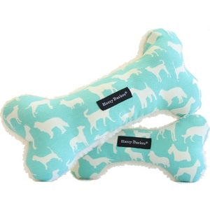 Harry Barker Large Turquoise Kennel Club Bone Toy