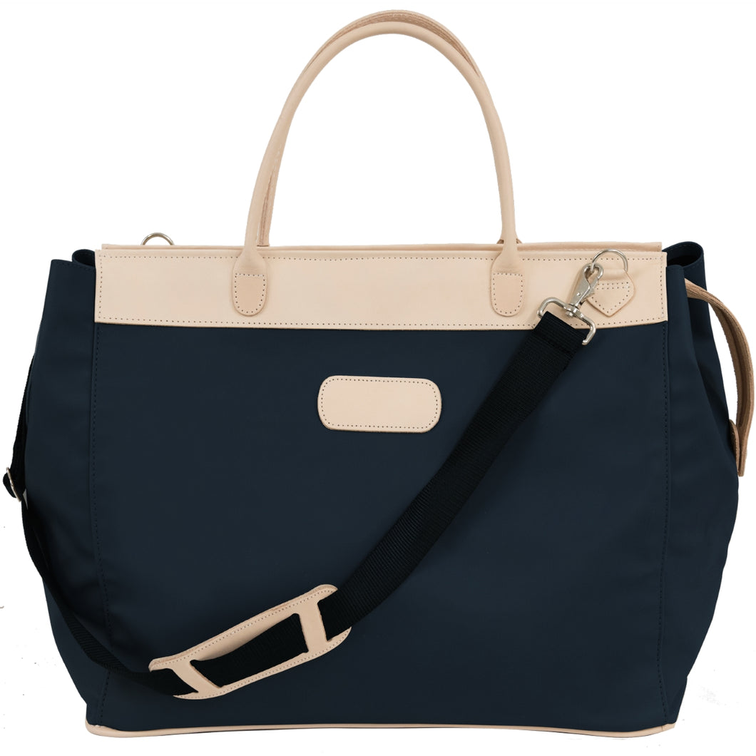 Jon Hart Burleson Bag with Monogram - Navy