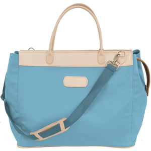 Jon Hart Burleson Bag with Monogram - Ocean Blue