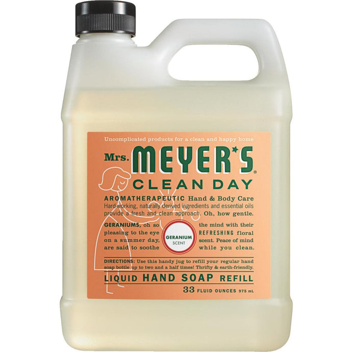 Mrs. Meyer's Clean Day 33 Oz. Geranium Liquid Hand Soap Refill