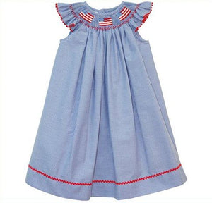 American Smocked Dress