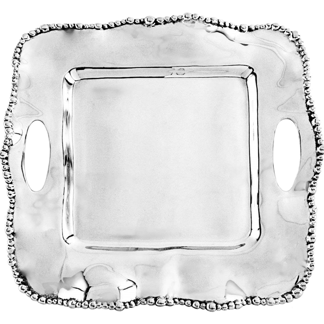 Beatriz Ball Organic Pearl Kristi Square Tray - Small