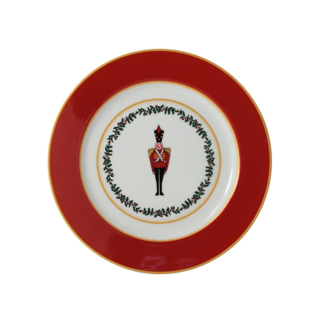Bernardaud Grenadiers Red Soldier Salad Plate