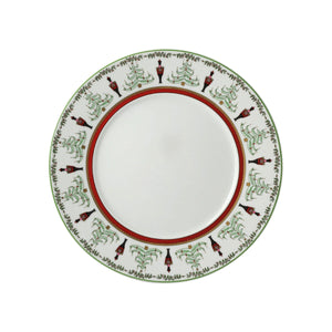 Bernardaud Grenadiers Salad with Red Band